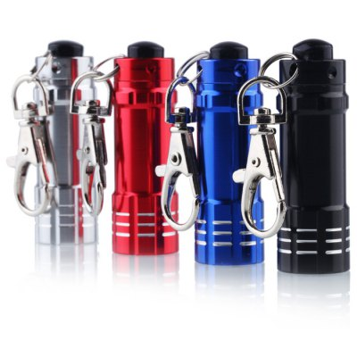 LR44 LED Keychain Flashlight