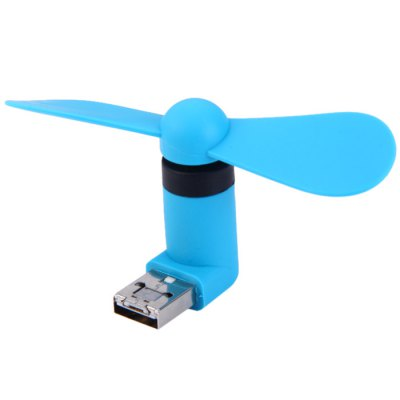 USB and Micro USB Phone FanSamsung Cables &amp; Adapters<br>USB and Micro USB Phone Fan<br><br>Color: Black,Blue,Green,Orange,White<br>Package Contents: 1 x USB Fan<br>Package size (L x W x H): 9.00 x 2.40 x 5.00 cm / 3.54 x 0.94 x 1.97 inches<br>Package weight: 0.042 kg<br>Product size (L x W x H): 9.00 x 2.10 x 4.30 cm / 3.54 x 0.83 x 1.69 inches<br>Product weight: 0.016 kg