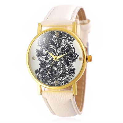 Jijia Retro Flower Women Quartz Watch with Leather BandWomens Watches<br>Jijia Retro Flower Women Quartz Watch with Leather Band<br><br>Brand: Jijia<br>Watches categories: Unisex table<br>Available color: White, Red, Black, Blue<br>Style : Retro<br>Movement type: Quartz watch<br>Shape of the dial: Round<br>Display type: Analog<br>Case material: Alloy<br>Band material: Leather<br>Clasp type: Pin buckle<br>The dial thickness: 1.0 cm / 0.39 inches<br>The dial diameter: 3.8 cm / 1.49 inches<br>The band width: 2.0 cm / 0.79 inches<br>Product weight: 0.030 kg<br>Package weight: 0.08 kg<br>Product size (L x W x H) : 24 x 3.8 x 1 cm / 9.43 x 1.49 x 0.39 inches<br>Package size (L x W x H): 25 x 4.8 x 2 cm / 9.83 x 1.89 x 0.79 inches<br>Package contents: 1 x Jijia Watch