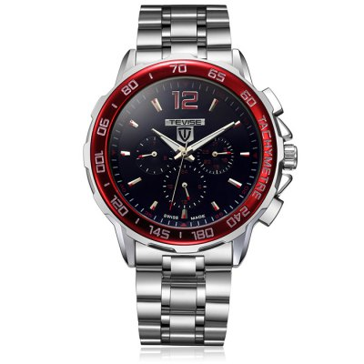 ФОТО Tevise Date Day Display Male Automatic Mechanical Watch
