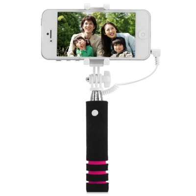 Selfie Monopod RC ShutterStands &amp; Holders<br>Selfie Monopod RC Shutter<br><br>Compatibility: Samsung S6, Sony Ericsson, Motorola, Nokia, Xperia Z3, HTC, LG, HTC 8X, iPhone 6 Plus, iPhone 5C, HTC, Samsung Galaxy S4 i9500, iPhone 6, Nokia, iPhone 5/5S, Samsung Galaxy S3 i9300, Motorola, Blackbe<br>Features: with Remote Control, Selfie Stick, with Cable<br>Compatible System Version: Android 4.1, Android 4.4, Android 4.2, iOS 8, iOS 7, Android 4.0<br>Material: Stainless Steel, Plastic<br>Product Weight: 0.084 kg<br>Package Weight: 0.131 kg<br>Product Size: 13.5 x 3 x 3.6 cm / 5.31 x 1.18 x 1.41 inches<br>Package Size: 15.5 x 5 x 3.3 cm / 6.09 x 1.97 x 1.30 inches<br>Package Contents: 1 x Selfie Monopod, 1 x Pouch