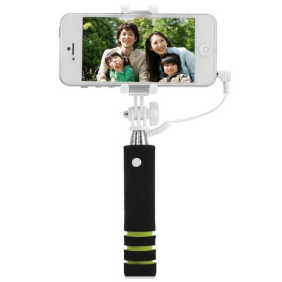 Selfie Monopod RC ShutterStands &amp; Holders<br>Selfie Monopod RC Shutter<br><br>Compatibility: Motorola, Blackberry, Samsung Galaxy S5, Samsung S6, Sony Ericsson, Motorola, Nokia, Xperia Z3, HTC, LG, HTC 8X, iPhone 6 Plus, iPhone 5C, HTC, Samsung Galaxy S4 i9500, Nokia, iPhone 6, iPhone 5/5S, S<br>Features: with Cable, with Remote Control, Selfie Stick<br>Compatible System Version: Android 4.0, Android 4.1, Android 4.4, Android 4.2, iOS 8, iOS 7<br>Material: Plastic, Stainless Steel<br>Product Weight: 0.084 kg<br>Package Weight: 0.131 kg<br>Product Size: 13.5 x 3 x 3.6 cm / 5.31 x 1.18 x 1.41 inches<br>Package Size: 15.5 x 5 x 3.3 cm / 6.09 x 1.97 x 1.30 inches<br>Package Contents: 1 x Selfie Monopod, 1 x Pouch