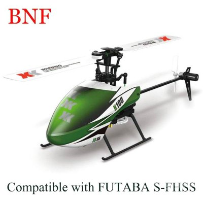XK K100 - B 6CH Flybarless RC Helicopter BNF
