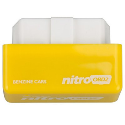 Nitro OBD-II Fuel Optimization DeviceOBD &amp; Diagnostic Tools<br>Nitro OBD-II Fuel Optimization Device<br><br>Brand: Nitro<br>Model  : Nitro OBD2<br>Special function  : Fuel optimization<br>Voltage  : 12V<br>Color  : Yellow<br>Material  : Plastic<br>Adaptable automobile mode : Benzine engine cars<br>Data measurements: fuel level, fuel pressure, fuel trim<br>Identification : FCC, ROHS, CE<br>Working Conditions: 0 - 60 centigrade degree<br>Product weight   : 0.040 kg<br>Package weight   : 0.11 kg<br>Product size (L x W x H)  : 5 x 3 x 2 cm / 1.97 x 1.18 x 0.79 inches<br>Package size (L x W x H)  : 8 x 8 x 6 cm / 3.14 x 3.14 x 2.36 inches<br>Package contents: 1 x Nitro OBD2 Chip Tuning Box, 1 x English User Manuel