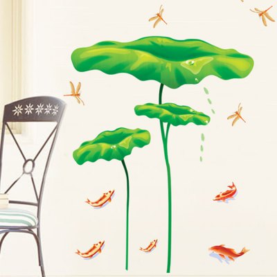 Lotus Leaf Wall Sticker