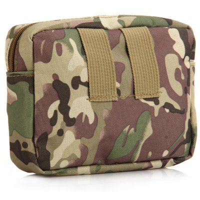 Unisex Tactical Waist BagWaistpacks<br>Unisex Tactical Waist Bag<br><br>Type: Waist Bag<br>For: Climbing, Hiking, Fishing, Camping, Other, Cycling, Travel, Adventure<br>Material: Nylon<br>Features : Water Resistance<br>Color: Digital Camouflage, Black, ACU Camouflage, CP, Khaki, Three sand camouflage, Camouflage, Desert Digital Camouflage<br>Product weight   : 0.078 kg<br>Package weight   : 0.120 kg<br>Product size (L x W x H)   : 16.0 x 9.0 x 13.0 cm / 6.29 x 3.54 x 5.11 inches<br>Package size (L x W x H)  : 17.5 x 10.5 x 14.5 cm / 6.88 x 4.13 x 5.70 inches<br>Package Contents: 1 x Tactical Waist Bag