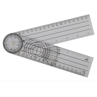 Professional 360 Degree Rotatable Measuring Scale Ruler Medical Measuring Tool