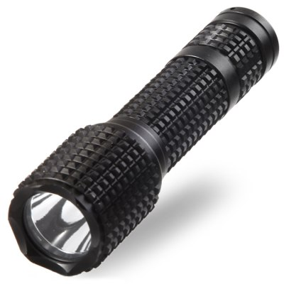Small Sun ZY - A622 Q5 LED FlashlightLED Flashlights<br>Small Sun ZY - A622 Q5 LED Flashlight<br><br>Brand: Small Sun<br>Model: ZY-A622<br>Emitter Type: Cree Q5<br>Total Emitter: 1 x Cree Q5<br>Lumens: 800LM<br>Switch Type: Clicky<br>Switch Location: Tail Cap<br>Feature: Lanyard<br>Function: Walking, Hiking, EDC, Household Use, Night Riding, Camping<br>Battery Type: 18650<br>Battery Quantity: 1 x 18650 battery (not included)<br>Mode: 3 (High &gt; Low &gt; Strobe)<br>Waterproof: IP65<br>Power Source: Battery<br>Reflector: Aluminum Smooth Reflector<br>Lens: Glass Lens<br>Body Material: Aluminium Alloy<br>Available Light Color: Cool White<br>Available Color: Black<br>Product weight: 0.110 kg<br>Package weight: 0.174 kg<br>Product size (L x W x H): 13.5 x 3 x 3 cm / 5.31 x 1.18 x 1.18 inches<br>Package size (L x W x H): 16 x 5 x 5 cm / 6.29 x 1.97 x 1.97 inches<br>Package Contents: 1 x Small Sun ZY - A622 LED Flashlight, 1 x Lanyard