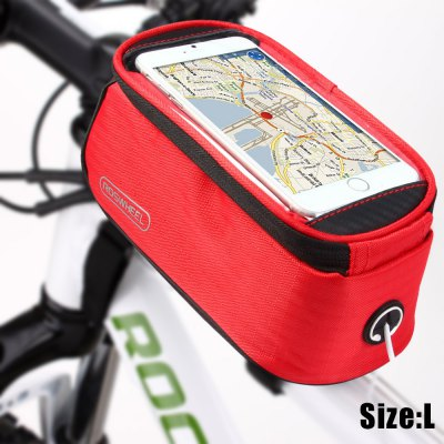 Roswheel 5.5 inch Touch Screen Bicycle Saddle Phone Bag