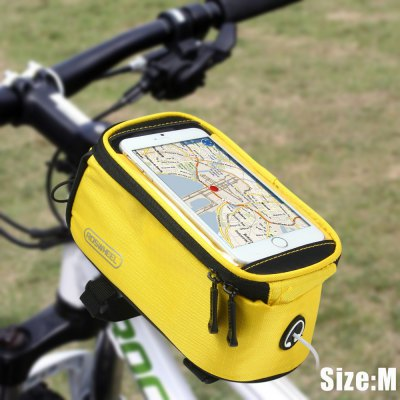 Roswheel 4.8 inch Touch Screen Bicycle Saddle Phone Bag