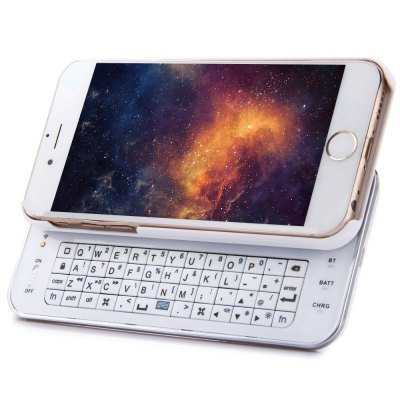 ФОТО 2 in 1 Backlight Slide-out Bluetooth 3.0 Keyboard with Back Cover Case for iPhone 6 6S 4.7 inch