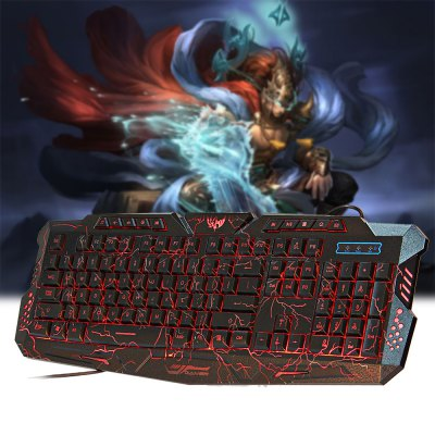 M-200 3 Colors Backlight Wired Gaming Keyboard