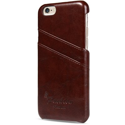 Back Cover Case with Credit Card Holder for iPhone 6 6S 4.7 inchesiPhone Cases/Covers<br>Back Cover Case with Credit Card Holder for iPhone 6 6S 4.7 inches<br><br>Compatible for Apple: iPhone 6, iPhone 6S<br>Features: With Credit Card Holder, Back Cover<br>Material: PU Leather, Plastic<br>Style: Solid Color, Novelty<br>Color: Red, Brown, Royalblue, Black<br>Product weight : 0.021 kg<br>Package weight : 0.080 kg<br>Product size (L x W x H): 13.7 x 6.5 x 1 cm / 5.38 x 2.55 x 0.39 inches<br>Package size (L x W x H) : 15 x 8 x 2 cm / 5.90 x 3.14 x 0.79 inches<br>Package contents: 1 x Case