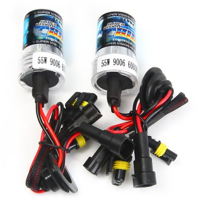 2pcs H4 55W 6000K H4-2 Car High / Low 4000lm Headlamp Xenon Front Head Light HID BulbCar Lights<br>2pcs H4 55W 6000K H4-2 Car High / Low 4000lm Headlamp Xenon Front Head Light HID Bulb<br><br>Type   : Headlights<br>Connector: H4<br>Feature: High Output, Easy to use, Low Power Consumption<br>Emitting color : White<br>Color temperature: 6000K<br>Voltage : 12V<br>Power : 55W<br>Lumens: 4000lm<br>Type of lamp-house : Xenon<br>Apply lamp position: External Lights<br>Product weight   : 0.154 kg<br>Package weight   : 0.263 kg<br>Package size (L x W x H)  : 17 x 12 x 6.5 cm / 6.68 x 4.72 x 2.55 inches<br>Package Contents: 2 x Car Lamp
