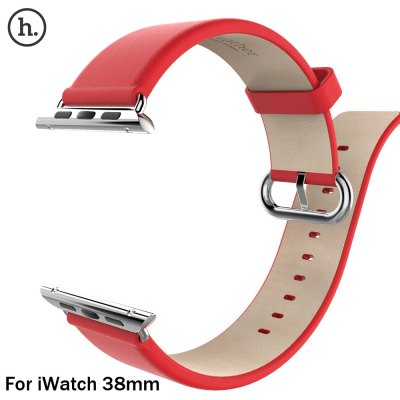 HOCO Classic Genuine Leather Watch Band Strap for Apple iWatch 38mm