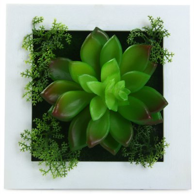 Artificial 3D Potted Plants Wall Hanging