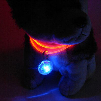 Flashing LED Pet Pendant Tag
