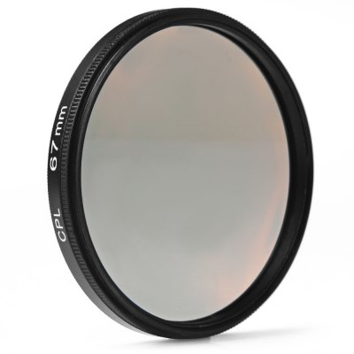 67mm CPL Filter Lens for Nikon Canon Sony DSLR CameraPhotography Accessories<br>67mm CPL Filter Lens for Nikon Canon Sony DSLR Camera<br><br>Size: 67mm<br>Type: CPL Filter<br>Product weight: 0.026 kg<br>Package weight: 0.1 kg<br>Product size (L x W x H): 6.9 x 6.9 x 0.8 cm / 2.71 x 2.71 x 0.31 inches<br>Package size (L x W x H): 9.6 x 9.6 x 1.7 cm / 3.77 x 3.77 x 0.67 inches<br>Package contents: 1 x 67mm CPL Filter Lens for Nikon Canon Sony DSLR Camera, 1 x Plastic Case