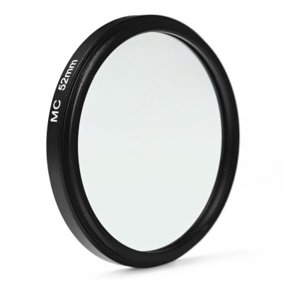 52mm MC UV Ultra-violet Filter Protector for Sony Canon DSLR CameraPhotography Accessories<br>52mm MC UV Ultra-violet Filter Protector for Sony Canon DSLR Camera<br><br>Size: 52mm<br>Type: MC-UV Filter<br>Product weight: 0.013 kg<br>Package weight: 0.07 kg<br>Product size (L x W x H): 5.4 x 5.4 x 0.6 cm / 2.12 x 2.12 x 0.24 inches<br>Package size (L x W x H): 7 x 7 x 1.6 cm / 2.75 x 2.75 x 0.63 inches<br>Package contents: 1 x 52mm MC UV Multi-coated Ultra-violet Filter Protector, 1 x Plastic Case