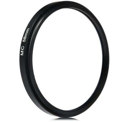 58mm MC UV Ultra-violet Filter Protector for Sony Canon DSLR CameraPhotography Accessories<br>58mm MC UV Ultra-violet Filter Protector for Sony Canon DSLR Camera<br><br>Size: 58mm<br>Type: MC-UV Filter<br>Product weight: 0.017 kg<br>Package weight: 0.08 kg<br>Product size (L x W x H): 6 x 6 x 0.6 cm / 2.36 x 2.36 x 0.24 inches<br>Package size (L x W x H): 7 x 7 x 1.6 cm / 2.75 x 2.75 x 0.63 inches<br>Package contents: 1 x 58mm MC UV Multi-coated Ultra-violet Filter Protector, 1 x Plastic Case