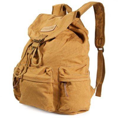 Caden F5 Camera Canvas Backpack with Removable Inner Bag