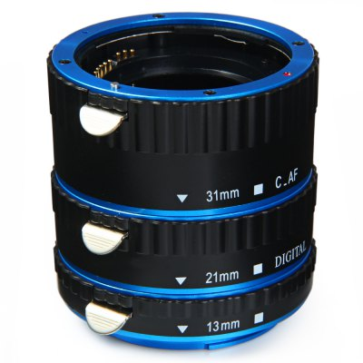 13mm 21mm 31mm AF Macro Extension Tube Set for Canon