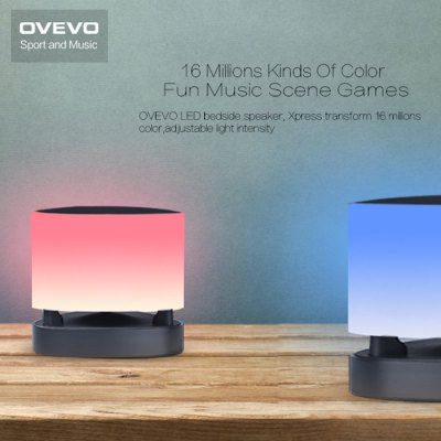 ФОТО OVEVO Fantasy Pro Smart Bluetooth 4.0 Music Speaker Lamp LED Light Intelligent Bulb Holiday Party Decoration Gift