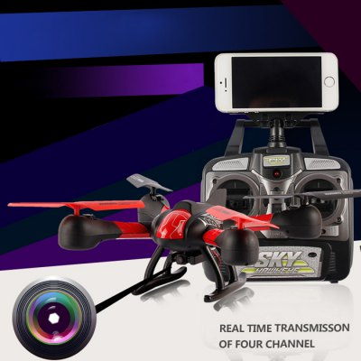 SKY HAWKEYE 1315W WIFI FPV Real Time Transmission Headless Mode RC Quadcopter 2.4G 4 Channel Drone with HD Camera
