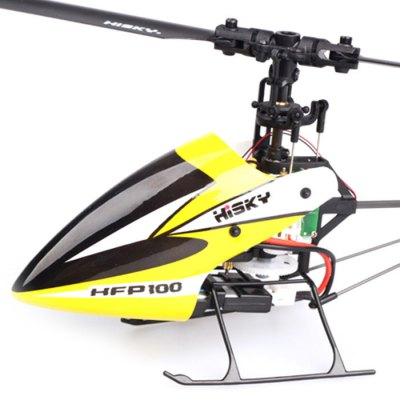 HISKY HFP100 V2 2.4GHz 4CH 6-Axis Gyro Flybarless RC Helicopter RTF with H - Q4 Transmitter