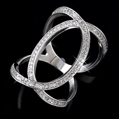 Luxury Rhinestoned Hollow Out Womens RingRings<br>Luxury Rhinestoned Hollow Out Womens Ring<br><br>Gender: For Women<br>Material: Rhinestone<br>Metal Type: Copper<br>Style: Trendy<br>Shape/Pattern: Others<br>Diameter: 2CM<br>Weight: 0.04KG<br>Package Contents: 1 x Ring