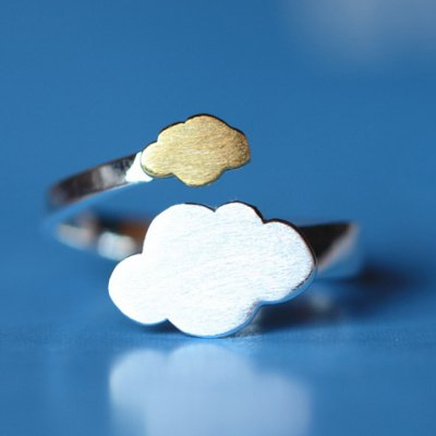 Chic Stylish Cloud Shape Ring For Women