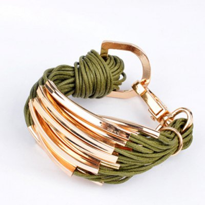 Characteristic Layered Bracelet