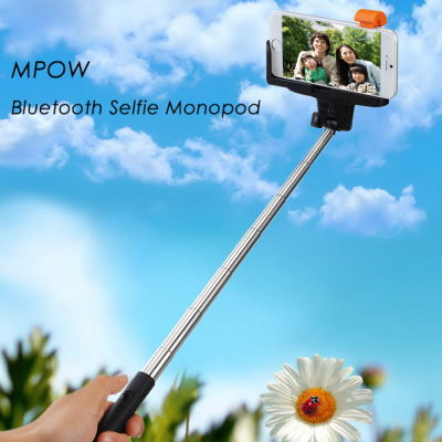 MPOW iSnap Pro Bluetooth Selfie Monopod with Remote Shutter and Phone Holder