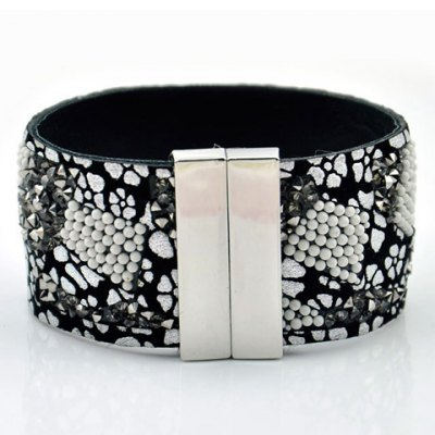 Bohemia Beaded Magnetic Closure Bracelet