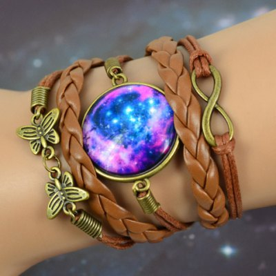 Retro Butterfly Printed Bracelet For Women