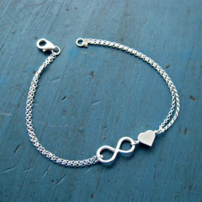 Chic Heart Eight Bracelet For Women