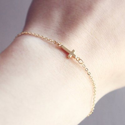 Laconic Cross Bracelet For Women