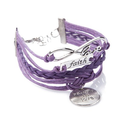 Cute Letter Weaved Layered Friendship Bracelet For Women