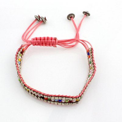 ONE PIECE Bohemian Style Beads Knitted Women's Bracelet