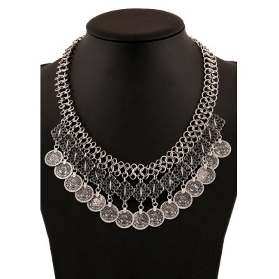 Classic Coin Pendant Necklace For Women