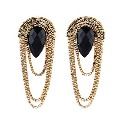 Pair of Tassel Decorated Earrings от GearBest.com INT