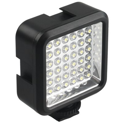 WanSen W36LED Photography Fill LightPhotography Accessories<br>WanSen W36LED Photography Fill Light<br><br>Type: Photography tools<br>Accessories type: Other<br>Material: Electronic Components,Plastic<br>Product weight: 0.065 kg<br>Package weight: 0.200 kg<br>Product size (L x W x H): 7.30 x 6.00 x 3.10 cm / 2.87 x 2.36 x 1.22 inches<br>Package size (L x W x H): 11.50 x 13.60 x 8.30 cm / 4.53 x 5.35 x 3.27 inches<br>Package Contents: 1 x  Fill Light, 1 x Battery, 1 x Battery Charger, 1 x Chinese and English Manual