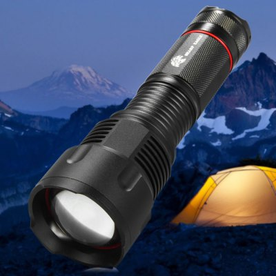 Sharp Eagle Cree XML T6 1200Lm Waterproof Zooming 18650 / 26650 / AA LED Flashlight Torch