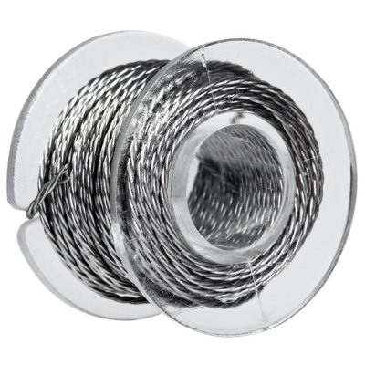 Original Youde 5 Meters 28AWG 0.3mm x 3 Triple Wires Twisted Kanthal Resistance Wire Roll E - cigarette Coils for Atomizers DIY