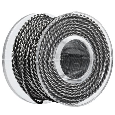 Original Youde 5 Meters 26AWG 0.4mm x 2 Double Wires Twisted Kanthal Resistance Wire Roll E - cigarette Coils for Atomizers DIY