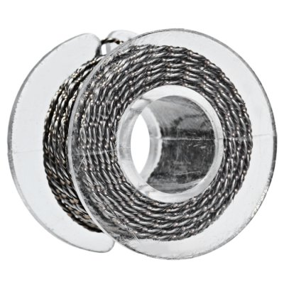 Original Youde 5 Meters 26AWG + 0.5 x 0.1mm 2 Wires Twisted Kanthal Resistance Wire Roll E - cigarette Coils for Atomizers DIY