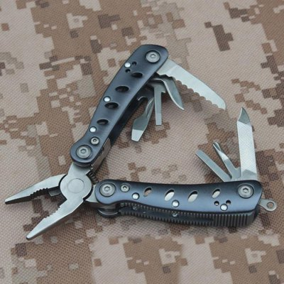 GANZO G101S / 2019S Portable Mini 10 in 1 Multifunctional Pliers Camping Toolkit