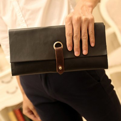 PU Leather Design Clutches For Men