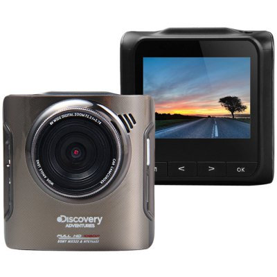 Discovery Adventures DC100 HD 1080P 2.4 Inch Car DVR
