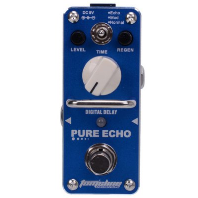 AROMA APE - 3 PURE ECHO Digital Delay Mini Analogue Digital Effect True Bypass